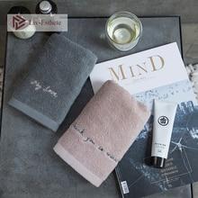 Liv-Esthete Nordic My Love 100 % Cotton White Tassel Towel Super Soft Quickly Dry Bath 35x 75cm 70x140cm For Bathroom