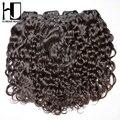 HJ Weave Beauty Brazilian Virgin Hair Water Wave 10pcs/Lot Bundles Wholesale Price Unprocessed Human Virgin Hair Free Shipping