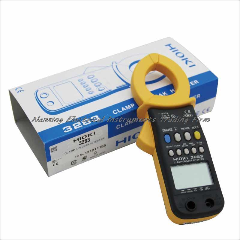 Fast arrival HIOKI 3283 CLAMP ON LEAK HiTESTER 1mA to 200A AC Leakage Current Clamp Meter цена