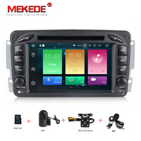 Android 8 0 Two Din 7 Inch Car DVD Player Stereo System For Mercedes Benz W209