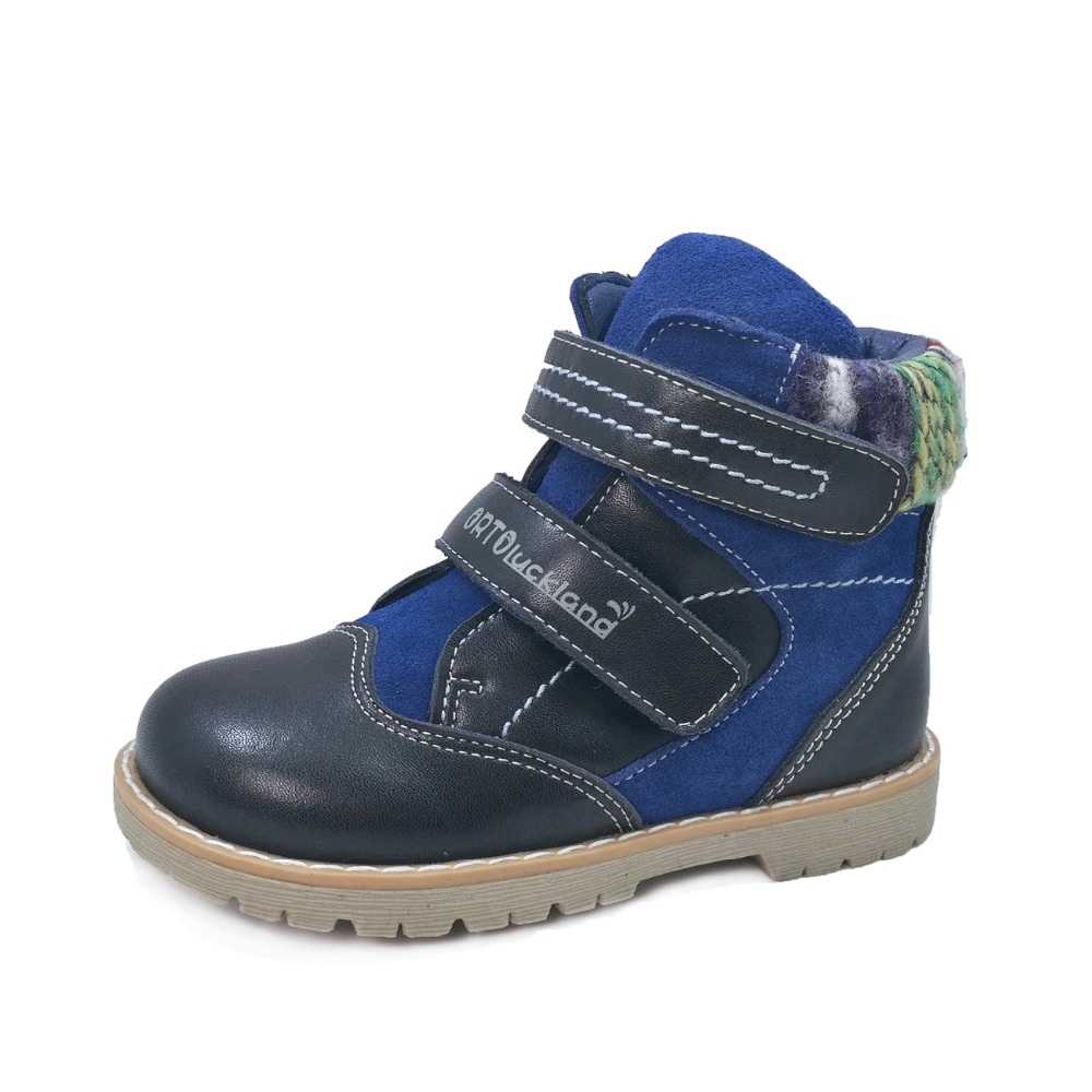 Children Kids Fashion Ankle Support Martin Snow Boots ...