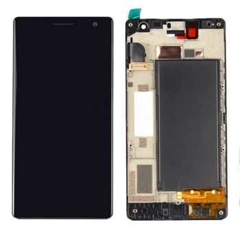 High Quality LCD Screen and Digitizer Full Assembly Lcd Replacement Glass with Frame For Nokia Lumia 730