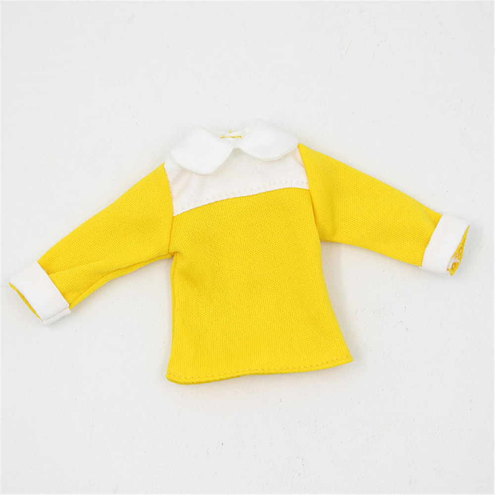 Neo Blythe Doll Jumpsuit Overall Yellow Dress 2