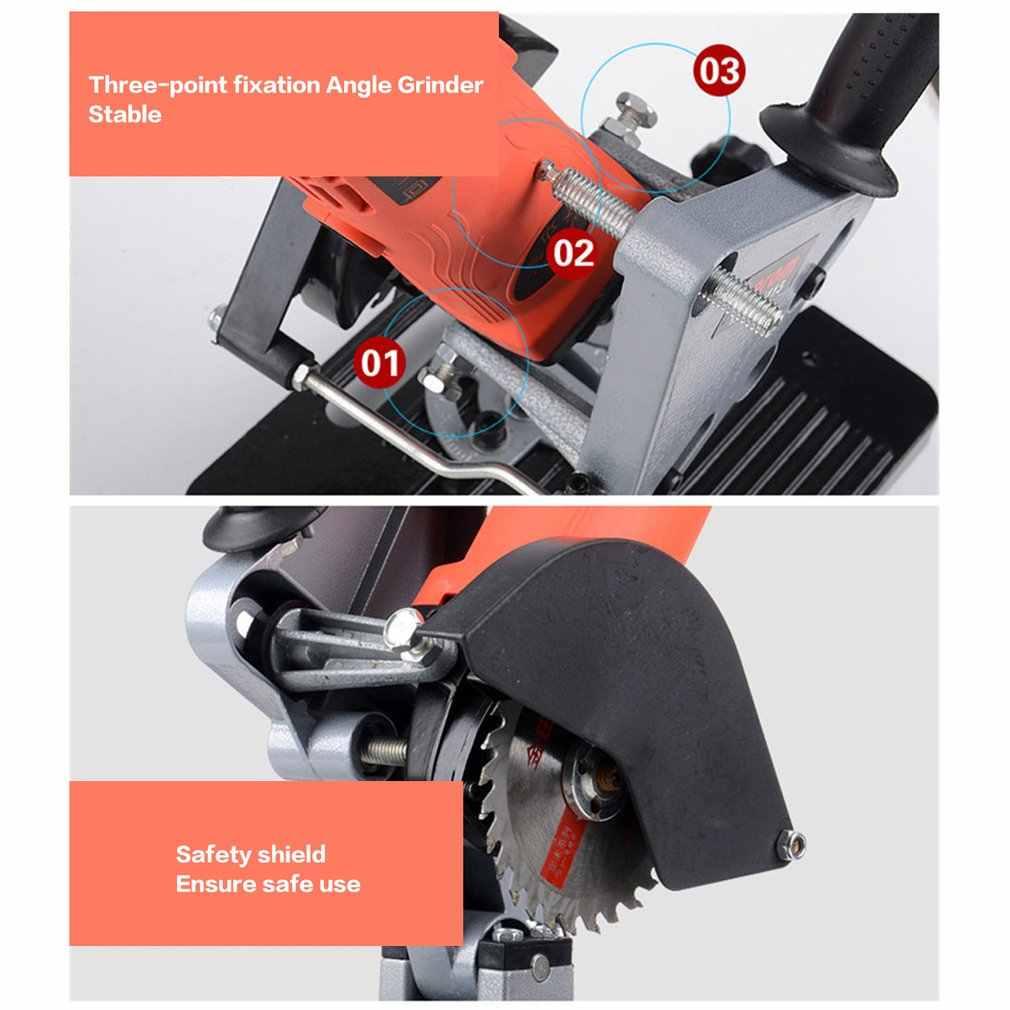 Multifunción Universal amoladora de ángulo soporte de la máquina de corte soporte de soporte para herramientas de amoladora de ángulo 100-125