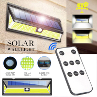 1000LM High Bright 180 LEDs Solar Lamp 1/2 Pack PIR Motion Sensor Wall Light IP65 Waterproof Emergency Security Wireless Light