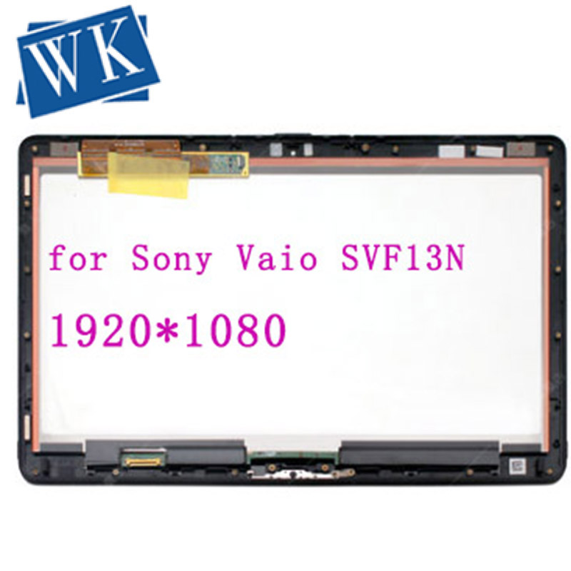 """Sony Vaio Flip SVF13N13 13.3/"""" LCD Touch Complete Screen Assembly SVF13 B"""