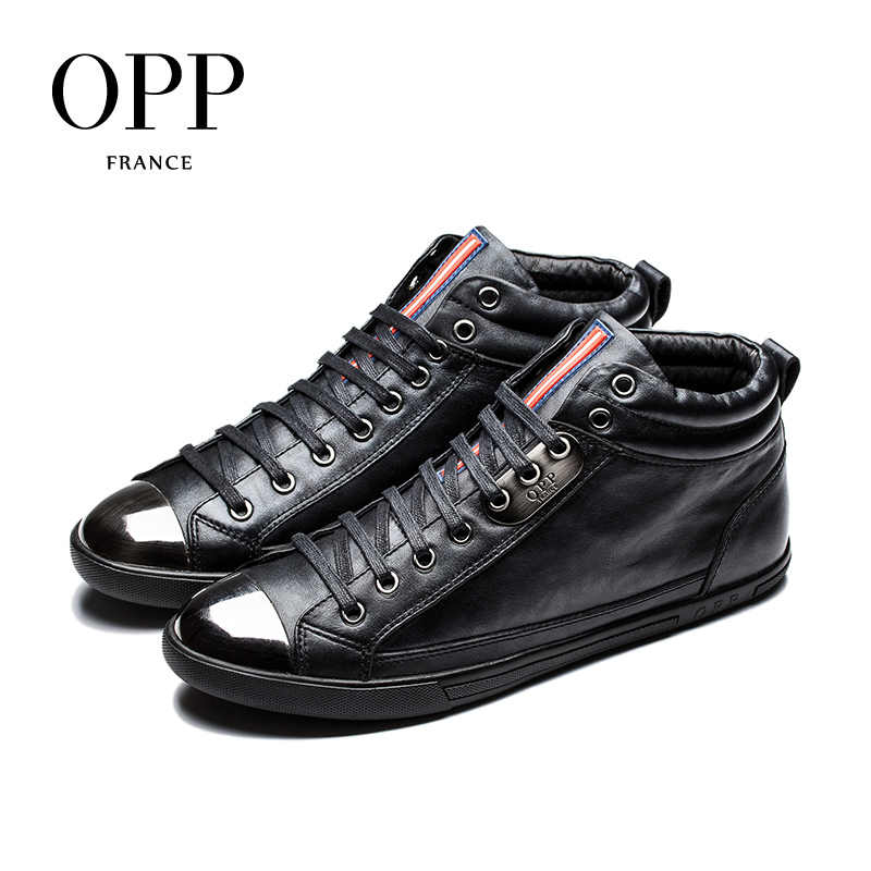 003f421d6c Detail Feedback Questions about OPP High Top Men boots 2017 Genuine ...