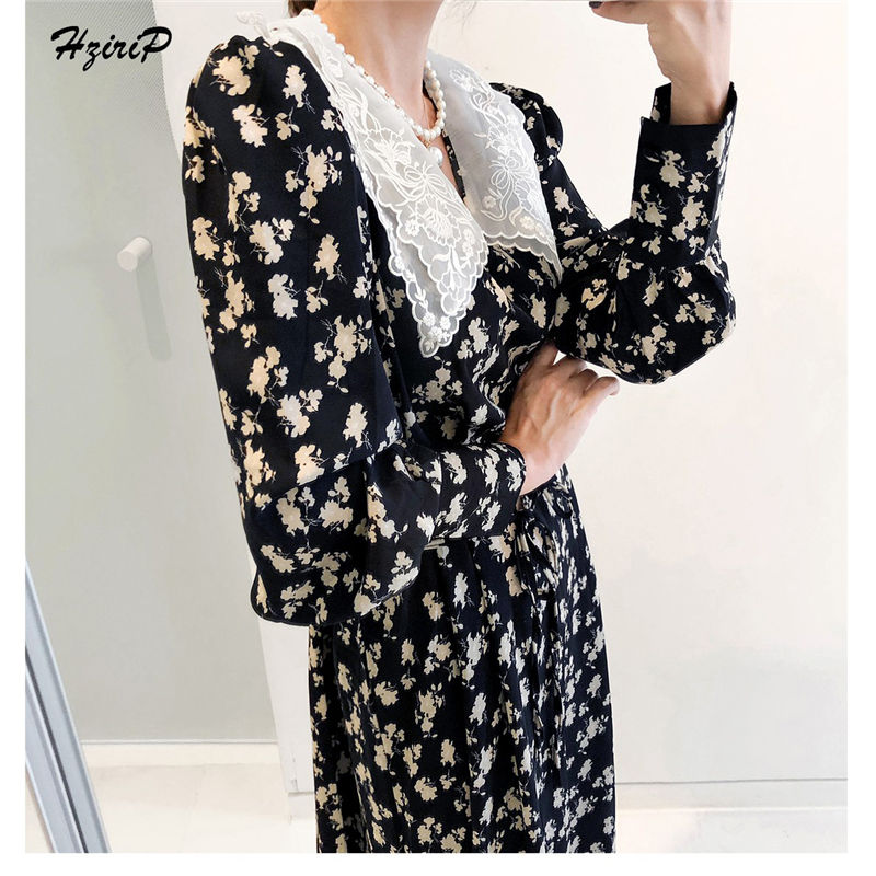 HziriP Summer Fashional Blouese Slim Sweetest Women Elegant OL Style 2019 Sexy Hot Ladies Party Long Shirt Femme Turn-down