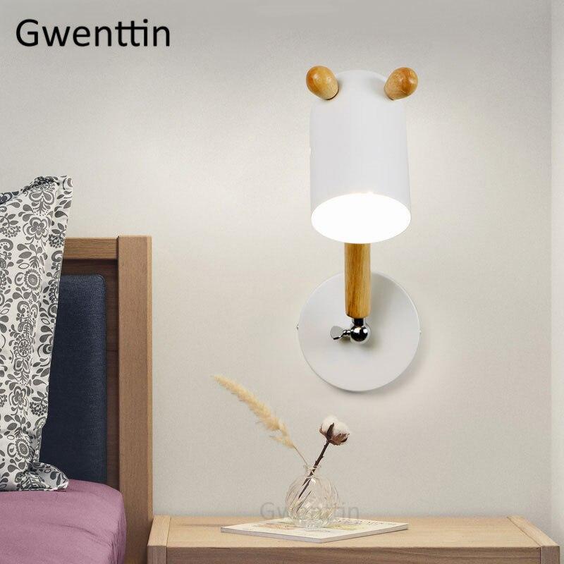 moderna led arandela luminárias casa arte decoração