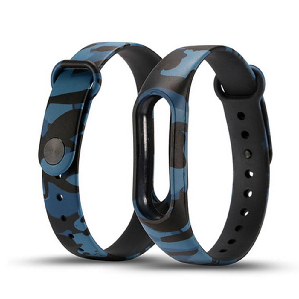 Camouflage Náhradní páska Xiomi Mi Band2 Silikonová náramek na - Inteligentní elektronika