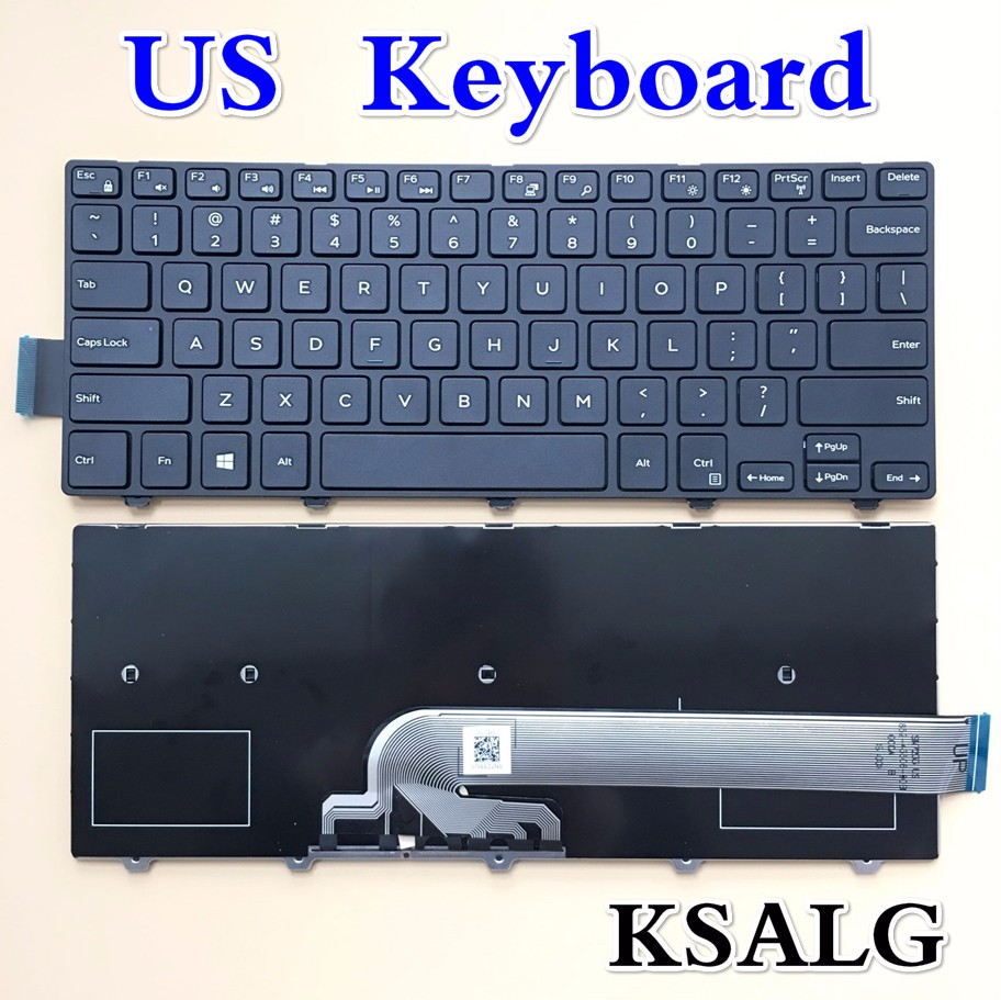US $14 68  New keyboard for DELL Inspiron 14 3000 14 3000 14 5000 14MR 14MD  14 3446 14 3447 14 3442 14 5442 14 5447 keyboard US Layout-in Replacement
