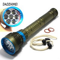 2019 new 14000LM high power Waterproof Diving Flashlight XML T6 L2 Underwater light 3 Modes 26650 Scuba Flash Light