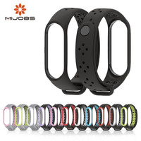 Mi Band 3 Strap Bracelet wrist strap watch xiomi Mi band3 accessories smart bracelet sport Silicone Strap for Xiaomi mi band 3