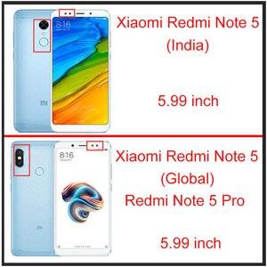 Image 5 - [2 pacco] HD Dello Schermo Temperato di Protezione di Vetro Redmi Nota 5 Globale/Redmi Nota 5 Pro Protezione Dello Schermo vetro Xiaomi Redmi Nota 5