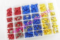 480pcs Box 39 Size Ferrule Kit Electrical Crimp Crimper Cord Wire End Terminal Block