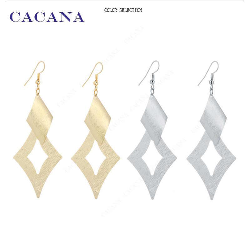 CACANA Ciondola Gli Orecchini Lunghi star Stile di Alta Qualità Per Le Donne Bigiotteria Vendita Calda No. A73 A74