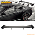 Universal GT Wing ABS BLACK 57 Inch JDM Black Trunk Spoiler Wing US Domestic Free Shipping