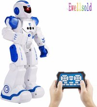 Remote Control Intelligent Robot Gesture Sensing Programming Charging Children Dancing Robot Fighting Defentor Boys Gift(China)