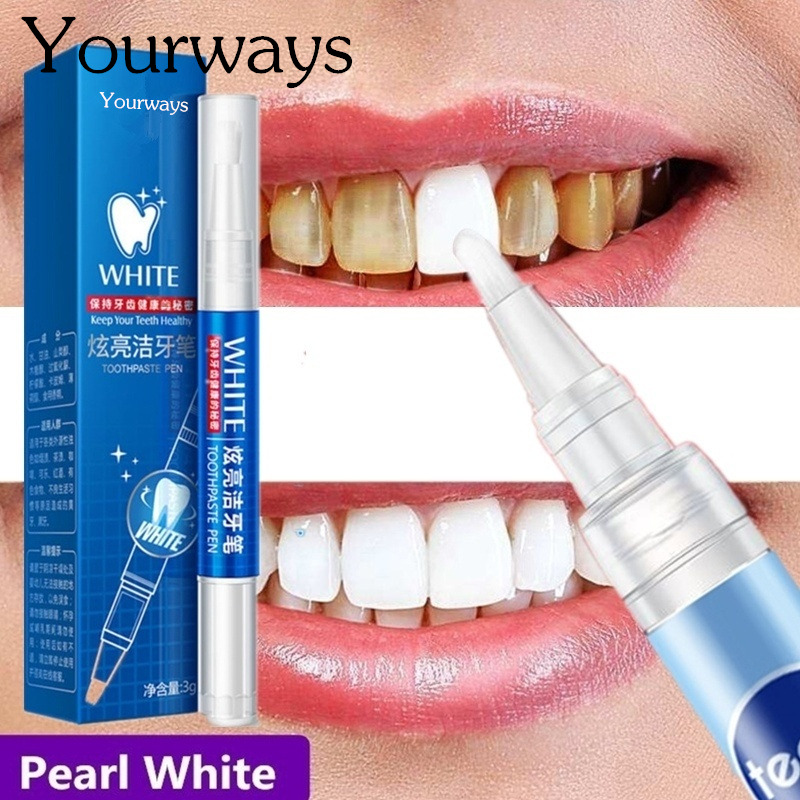 Magic Natural Teeth Whitening Gel Pen Oral Care Remove Stains Tooth Cleaning Teeth Whitener Tools(China)