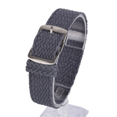 Newest Fashion 16 18 20 22MM Nylon Straps Watches Straps Weave  Watchband  Watch Band  Wristband Colorful Color Islamabad