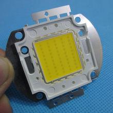 50 واط عالية الطاقة الطبيعية الأبيض 4000 ~ 4500K LED رقاقة مصباح ليد 5000 ~ 5500Lm 35 Mil