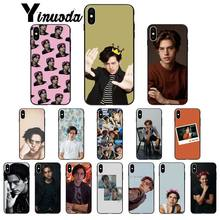 Yinuoda American TV Riverdale Series Cole Sprouse Unique Design Phone Cover for iPhone 6S 6plus 7 7plus 8 8Plus X Xs MAX 5 5S XR(China)