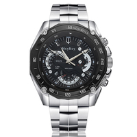 Women Stainless Steel Business Watches Men Automatic Watch With Calendar Relogio Masculino
