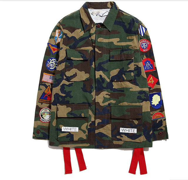 Off White Virgil Abloh Kanye West Camouflage Navajo Field Off White