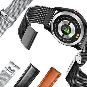 Image 4 - Cobrafly MX9 Smart Watch uomo ECG cardiofrequenzimetro pressione sanguigna Smart Wristband Fitness Tracker IP68 per Andriod Ios Phone