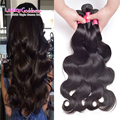 Reshe 7a brasileira onda do corpo do cabelo virgem 3 pacotes molhado e ondulado virgem graça cabelo brasileiro produtos para o cabelo tissage bresilienne