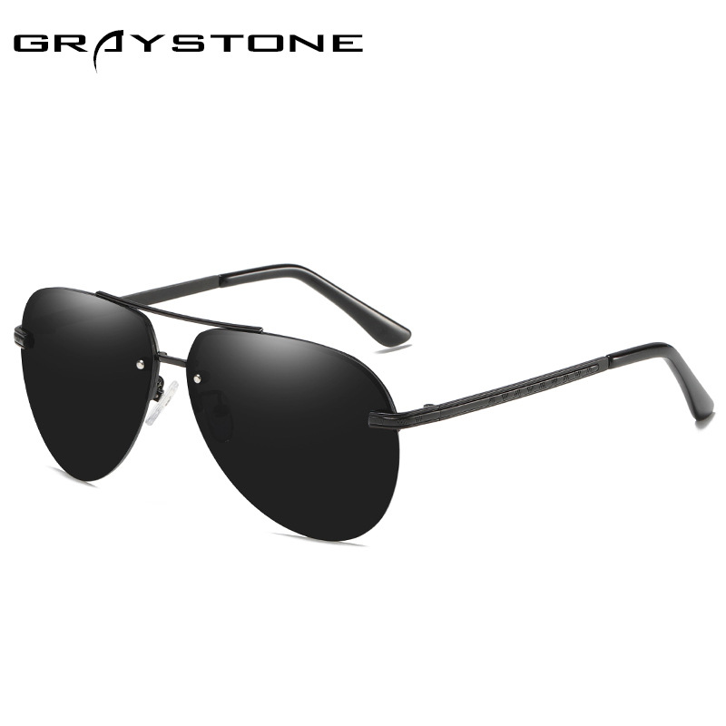 Original Brand Design Men s Sunglasses Polarized Glasses Oval Oversized Driver Driving Mirrors Shade Vintage Male