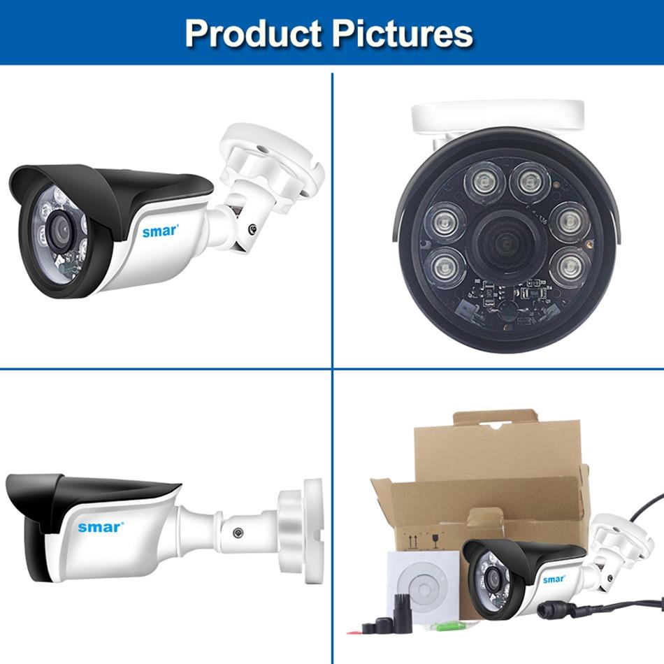 Smar H.264 Bullet IP Camera 720P 960P 1080P Security Camera OutdoorIndoor 24 hours Video Surveillance Onvif POE 48V Optional (3)