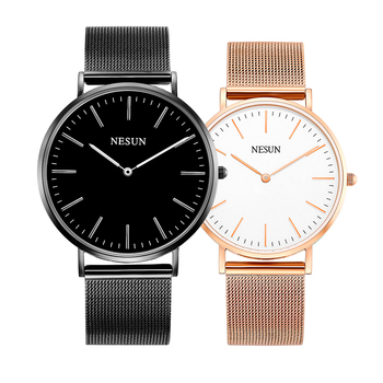 Switzerland Nesun Watch Men & Women Luxury Brand Japan MIYOTA Quartz Movement Lover's Watches Sapphire Waterproof clock N8801-L1