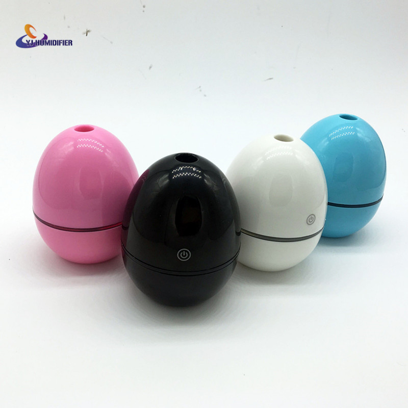 YJ HUMIDIFIER New 50ML Ultrasonic Humidifier Mini Air Humidifier USB Charging Aroma Essential Oil Diffuser Aromatherapy