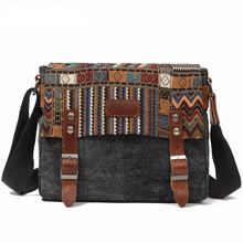 Messenger Bag Men Canvas Military Waterproof Handbag Vintage Designer Shoulder