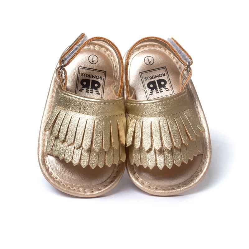 Summer Baby Moccasins Soft Bottom Fringe Candy Color Girls Toddler Shoes Baby Slippers Boys prewalkers