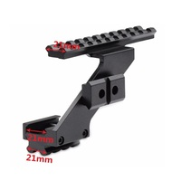 Pistol Hand Gun Scope Mount Fit Any Pistol With Picatinny Weaver Rail Under The Frame In