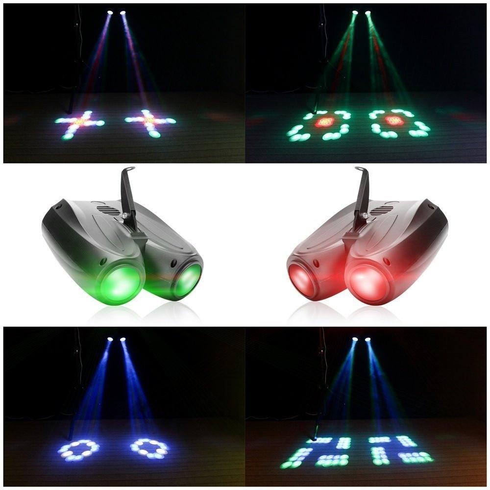 projetor lâmpada para dj festa efeito casamento eventos clube