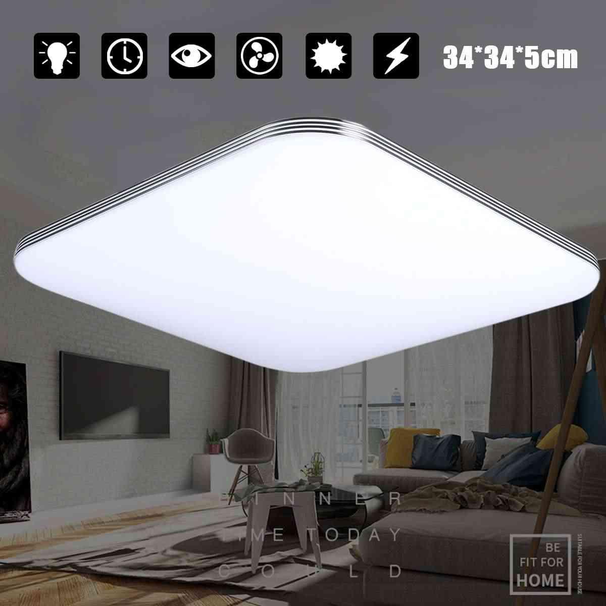 AUGIENB 1600LM 16W 5000K LED tavan ışıkları Modern lamba oturma odası  aydınlatma fikstür yatak odası mutfak yüzey montaj gömme panel Ceiling  Lights
