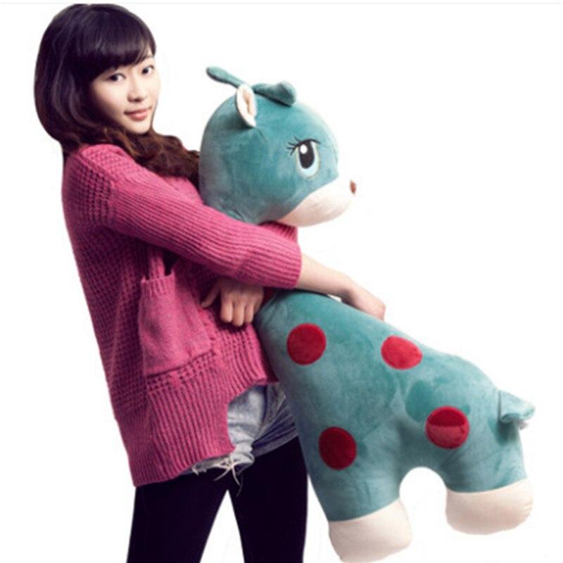 Fancytrader 39  100cm font b Cute b font Giant Plush Stuffed Giraffe Toy Soft Anime