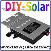 295 Вт Сетка Tie micro инвертор MPPT солнечной энергии Чистая синусоида выход с Связь мониторинга 300 Вт 36 В Солнечный домашняя система
