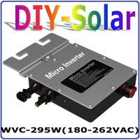 295W Grid Tie Inverter Power Inverter Solar Inverter WVC 295W With Power Line Carrier Current Communication