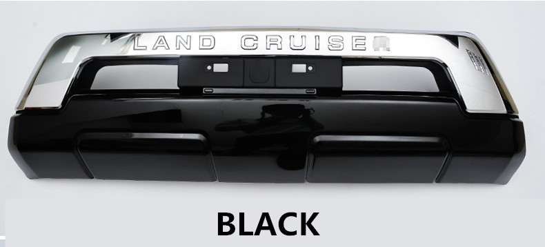 Front BUMPER GUARD For TOYOTA <font><b>LAND</b></font> <font><b>CRUISER</b></font> <font><b>LC200</b></font> 2016 <font><b>2017</b></font> 2018 2019 2020 BUMPER Plate High Quality Auto Accessories image