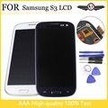 I9300 ЖК-экран для samsung Galaxy s3 жк-дисплей рамка для samsung s3 i9300 ЖК-дисплей Белый Синий
