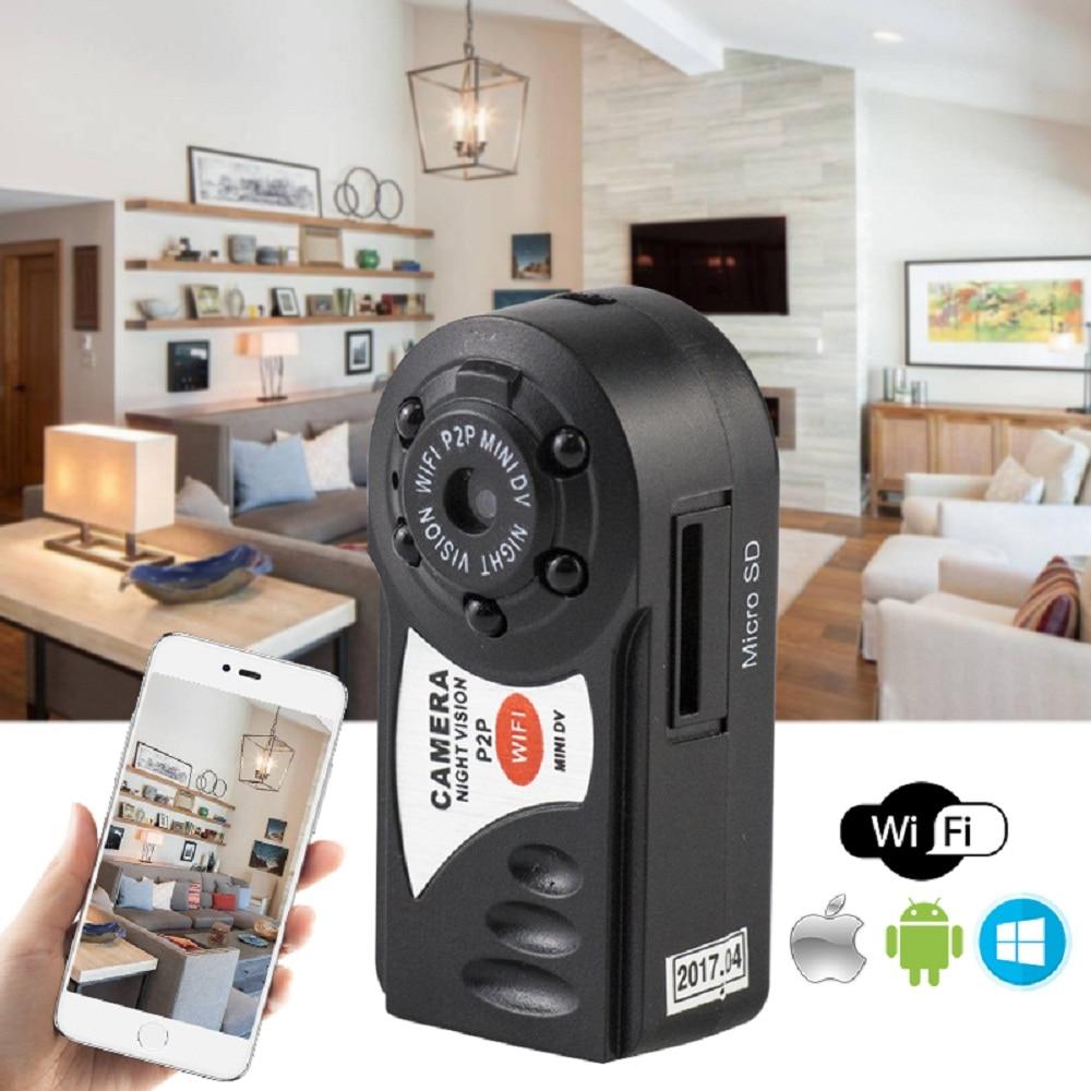 Q7 Mini Wifi DVR Wireless Video IP Camera Night Vision Built-in Microphone