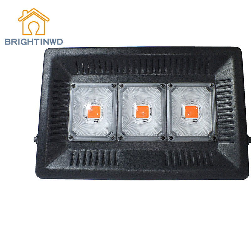 BRIGHTINWDLED Plant Growth Lamp 100W150W Full Spectrum Plant Supplement Light Agricultural Vegetable Greenhouse Plant Growth LED