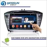 For Hyundai Ix35 Tucson Ix35 2009 2015 Car DVD Player GPS Navi Navigation Android System Radio