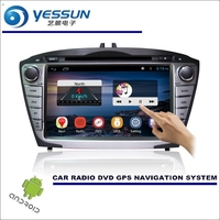 For Hyundai Ix35 Tucson Ix35 2009 2015 Car DVD Player GPS Navi Navigation Android System Radio