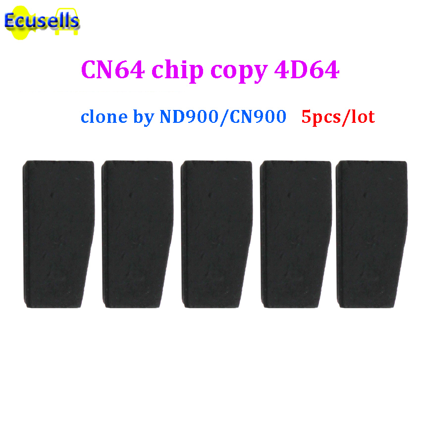 5pcs lot Auto CN64 pro Copy 4D64 transponder chip used for CN900 Clone 4D64 work with