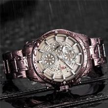 NAVIFORCE reloj para hombre, deportivo, de pulsera militar, resistente al agua, de cuarzo, 9149